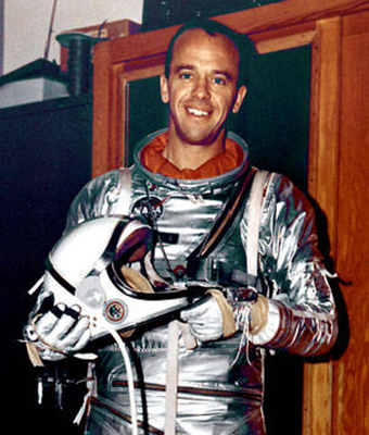 Alan Shepard. Photo credit: NASA